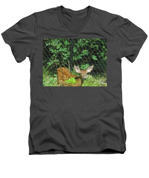 I Can Hear You Men's V-Neck T-Shirt