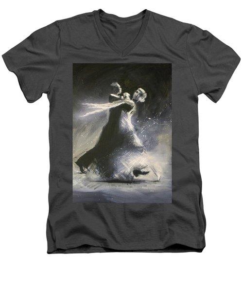 I Could Have Danced All Night Men's V-Neck T-Shirt
