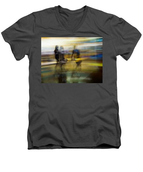 I Had A Dream That You And Your Friends Were There Men's V-Neck T-Shirt by Alex Lapidus