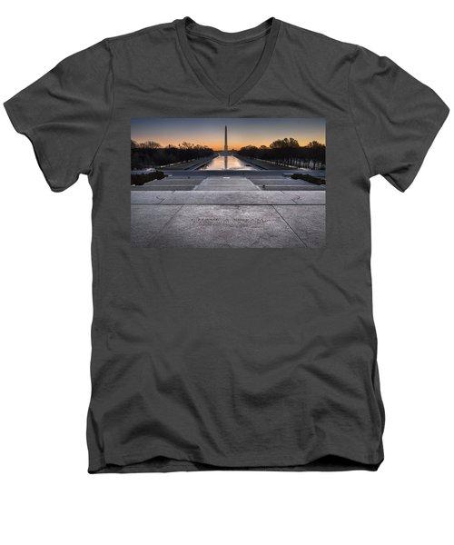 I Have A Dream... Men's V-Neck T-Shirt