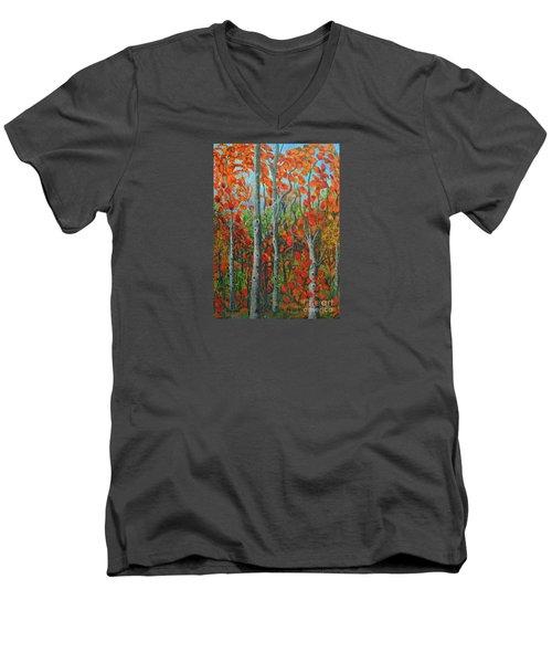 I Love Fall Men's V-Neck T-Shirt