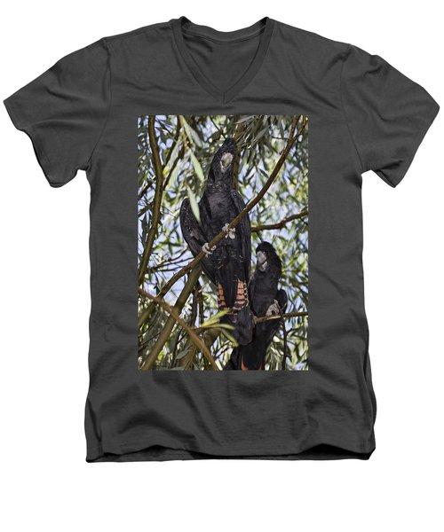 I Say Old Chap Men's V-Neck T-Shirt by Douglas Barnard