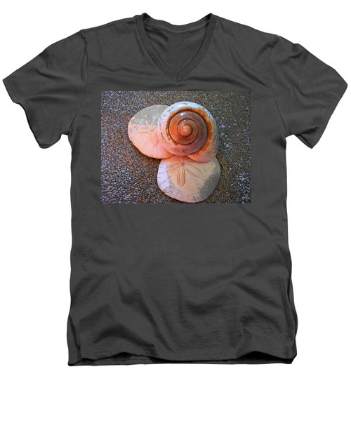 I Sea Art Men's V-Neck T-Shirt