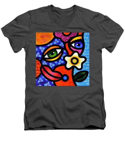 I Think I Like You Men's V-Neck T-Shirt