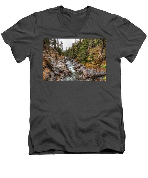 Icicle Gorge Men's V-Neck T-Shirt