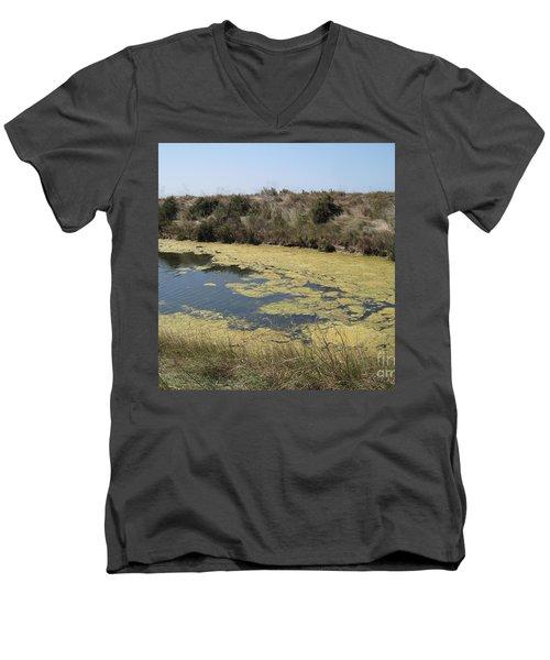 Ile De Re - Marshes Men's V-Neck T-Shirt
