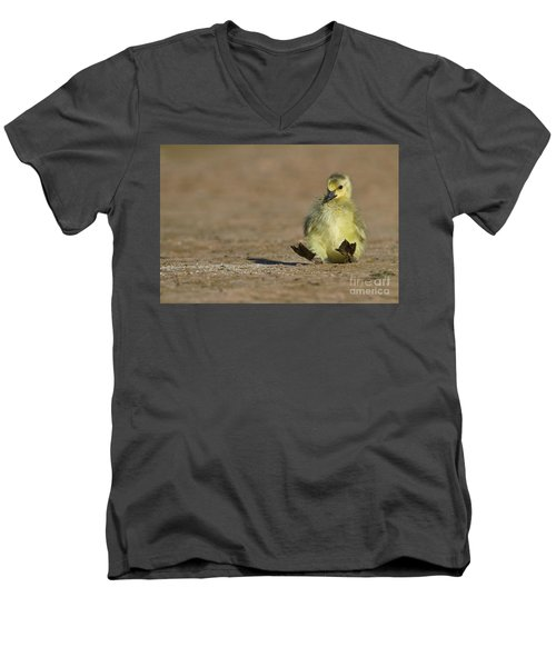 Men's V-Neck T-Shirt featuring the photograph I'm Falling by Bryan Keil