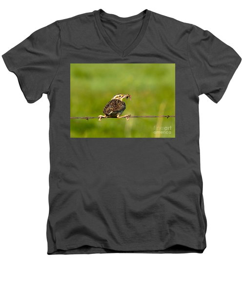 I'm Not Letting Go Men's V-Neck T-Shirt