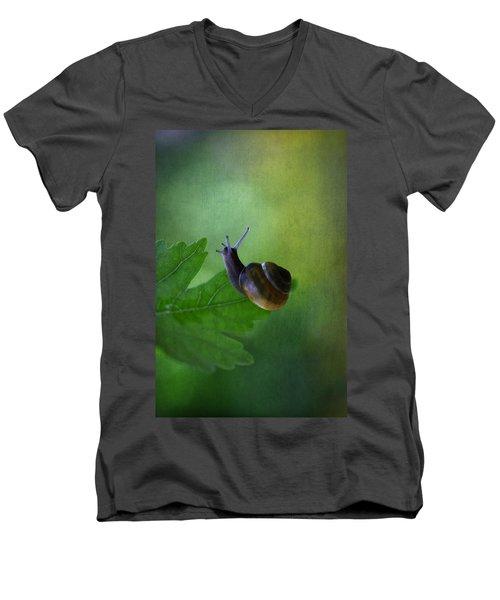 I'm Not So Fast Men's V-Neck T-Shirt