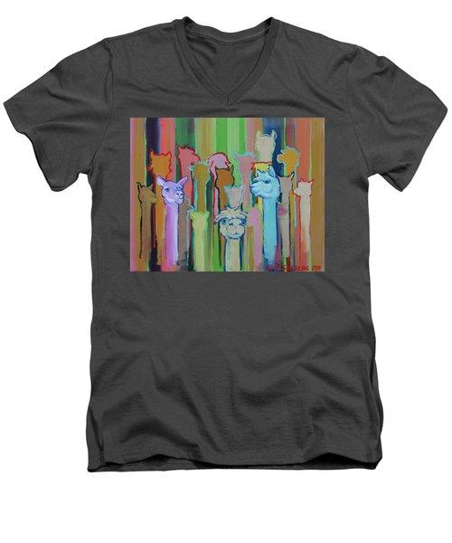 I'm So Happy You Came Men's V-Neck T-Shirt