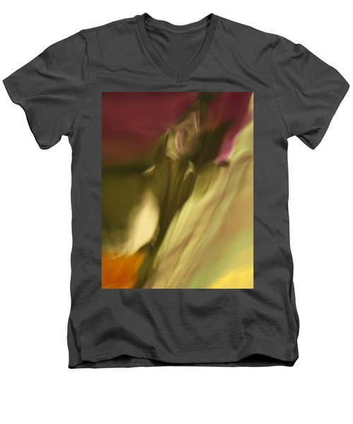 Impression Of A Rose Men's V-Neck T-Shirt