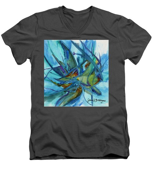In A Fishbowl Men's V-Neck T-Shirt