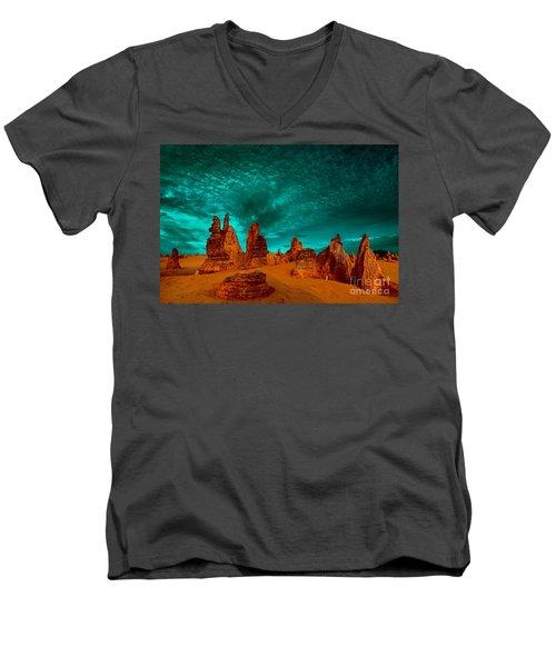 In All Directions Men's V-Neck T-Shirt