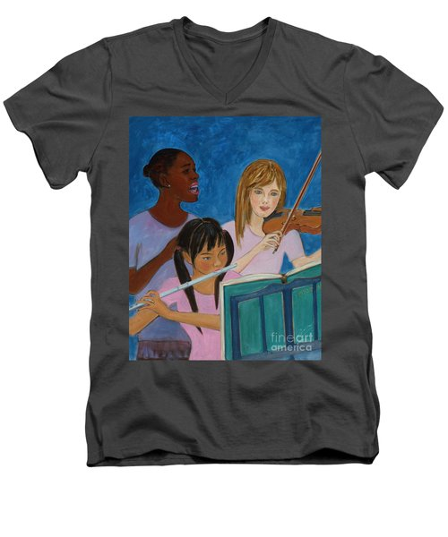 In Harmony Men's V-Neck T-Shirt