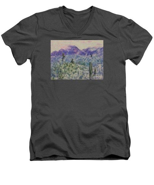 In Quietness And Trust Men's V-Neck T-Shirt