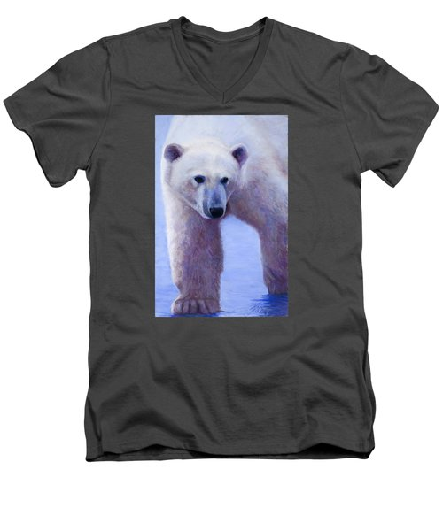 In Search Of Men's V-Neck T-Shirt by Billie Colson