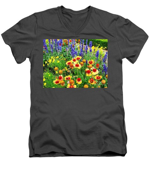 In The Garden Men's V-Neck T-Shirt
