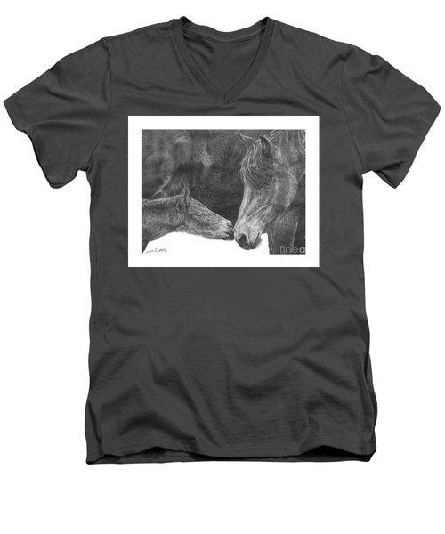 in the name of Love Men's V-Neck T-Shirt