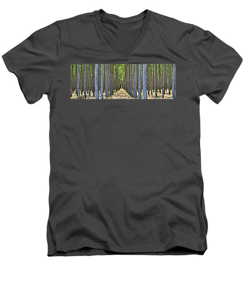 In The Woods Men's V-Neck T-Shirt