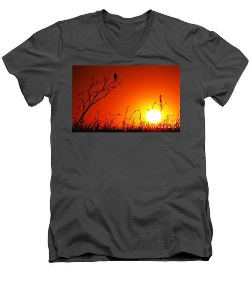Indifferent Men's V-Neck T-Shirt
