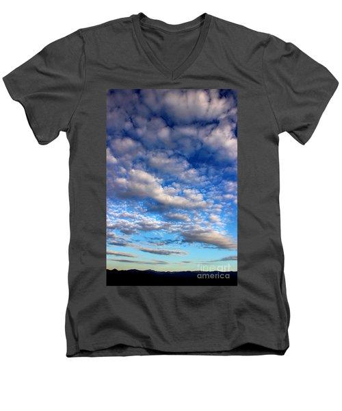 Influence Of Dusk Men's V-Neck T-Shirt by Michael Eingle