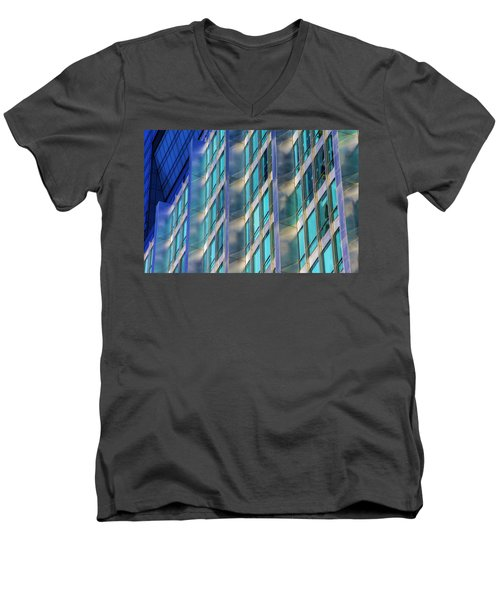 Inland Steel Building Men's V-Neck T-Shirt