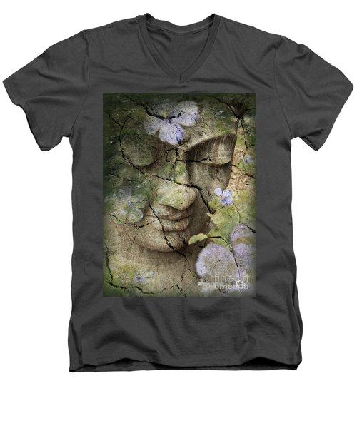 Inner Tranquility Men's V-Neck T-Shirt