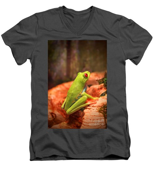 Inspirations For Tomorrow Men's V-Neck T-Shirt