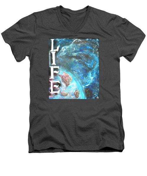 Intelligent Life Men's V-Neck T-Shirt