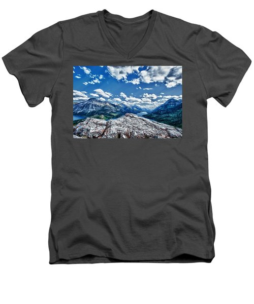 International Vista Men's V-Neck T-Shirt