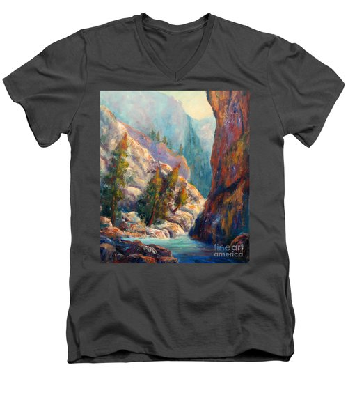 Into The Canyon Men's V-Neck T-Shirt