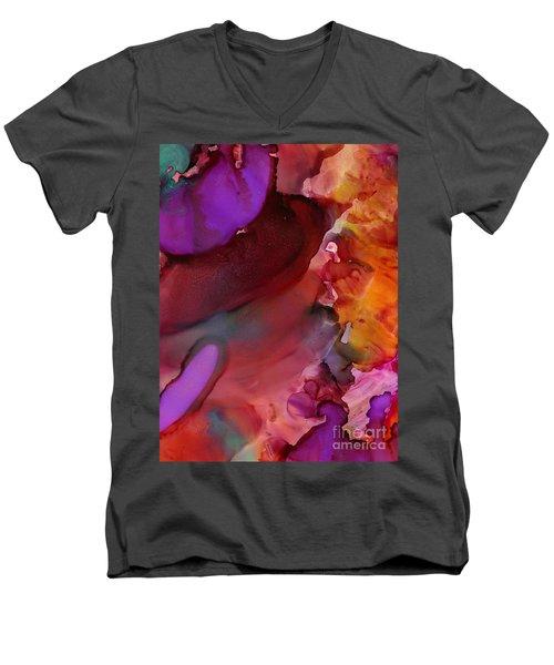 Into The Fire Men's V-Neck T-Shirt