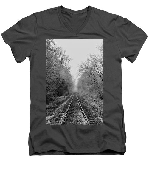 Into The Fog Men's V-Neck T-Shirt