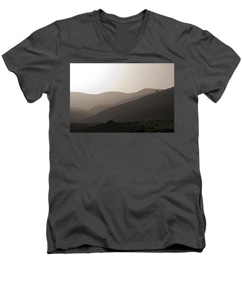 Into The Israel Desert - 1 Men's V-Neck T-Shirt