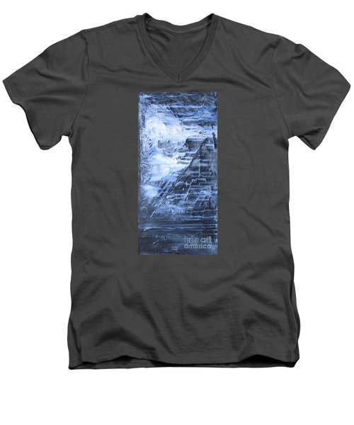 Men's V-Neck T-Shirt featuring the photograph Into The Mystic by Susan  Dimitrakopoulos