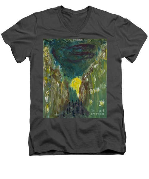 Into The Sunset Men's V-Neck T-Shirt