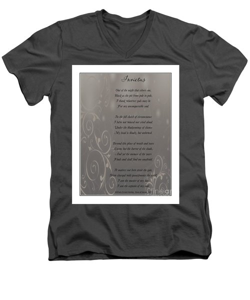 Invictus Tribute 2 Men's V-Neck T-Shirt
