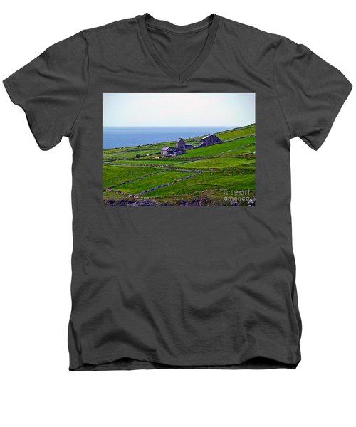 Irish Farm 1 Men's V-Neck T-Shirt