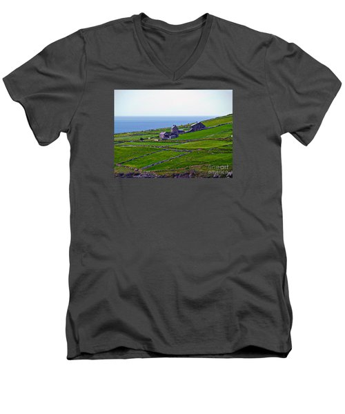 Irish Farm 1 Men's V-Neck T-Shirt