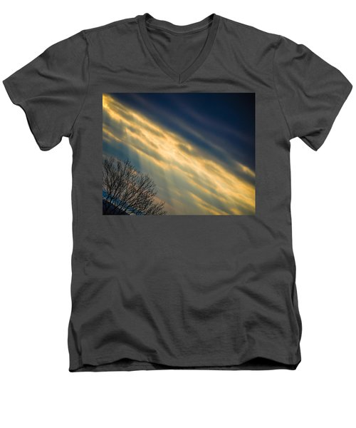 Irish Sunbeams Men's V-Neck T-Shirt