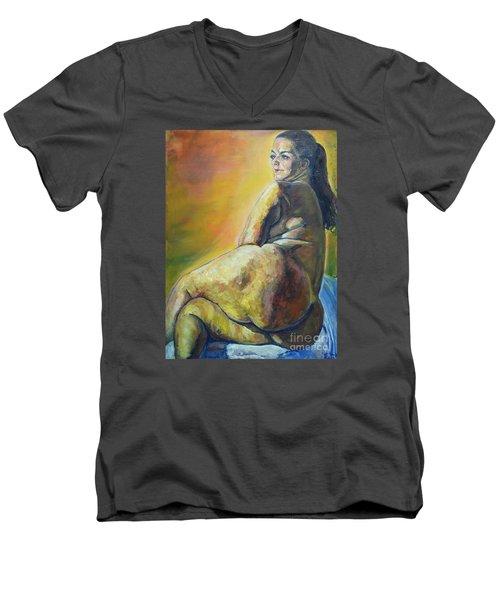 Irja Men's V-Neck T-Shirt
