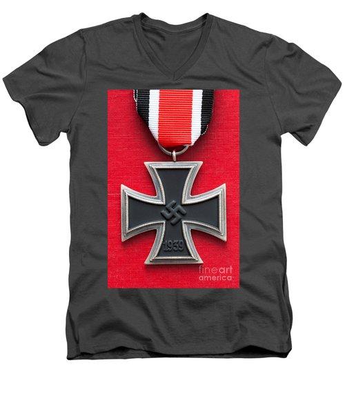Iron Cross Medal Men's V-Neck T-Shirt