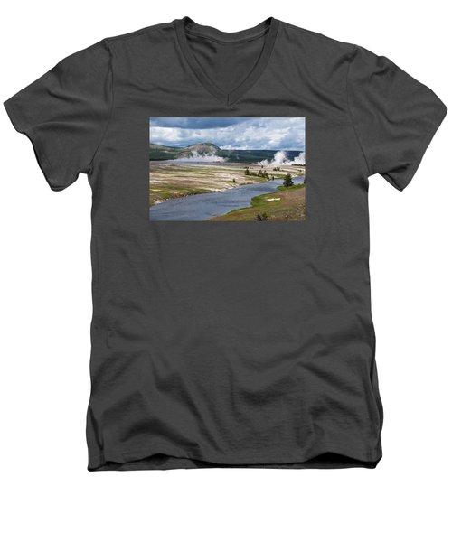 Iron Spring Creek Men's V-Neck T-Shirt