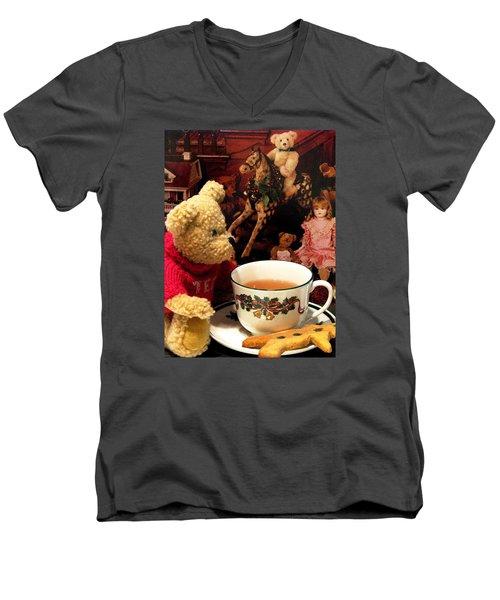 Is This For Santa Men's V-Neck T-Shirt