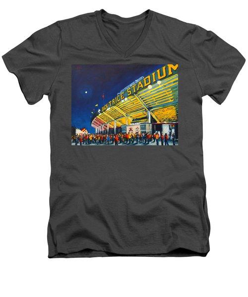 Isu - Jack Trice Stadium Men's V-Neck T-Shirt