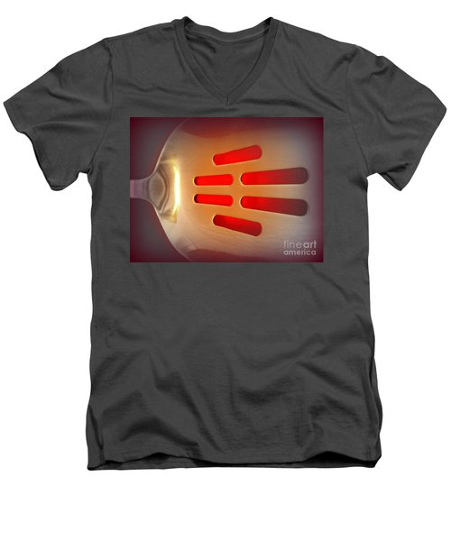It Glows Men's V-Neck T-Shirt