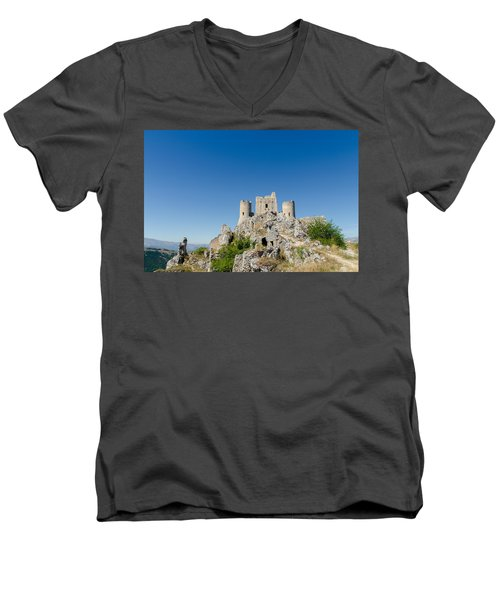 Italian Landscapes - Forgotten Ages Men's V-Neck T-Shirt