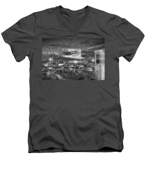 It's A Disposable World  Men's V-Neck T-Shirt