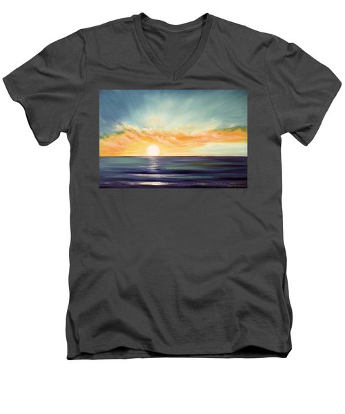 It's A New Beginning Somewhere Else Men's V-Neck T-Shirt