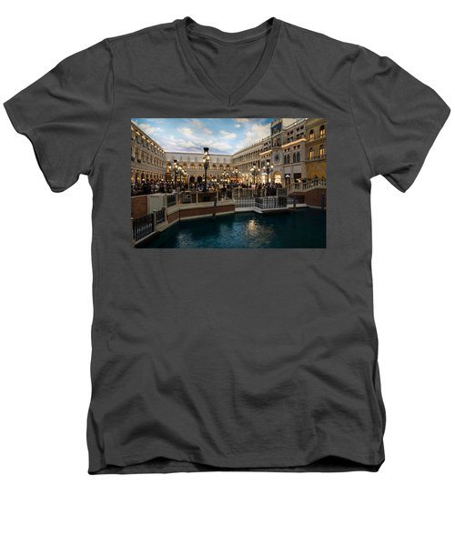 It's Not Venice Men's V-Neck T-Shirt